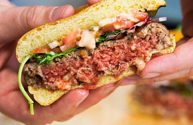 Bánh burger làm từ thực vật - giải pháp cho vấn đề môi trường - Ảnh 1.