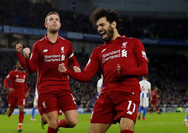 Salah ghi bàn duy nhất, Liverpool bỏ xa M.C 7 điểm - Ảnh 1.