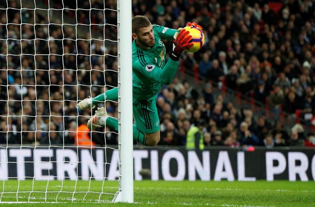Tottenham thua MU trong trận cầu De Gea có đến 11 pha cứu thua - Ảnh 1.