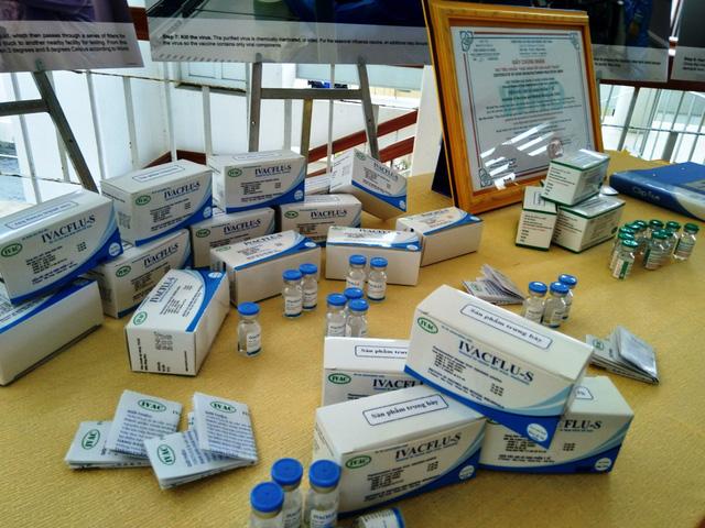 Sẵn sàng cung ứng văcxin cúm mùa của VN cho cộng đồng - Ảnh 1.