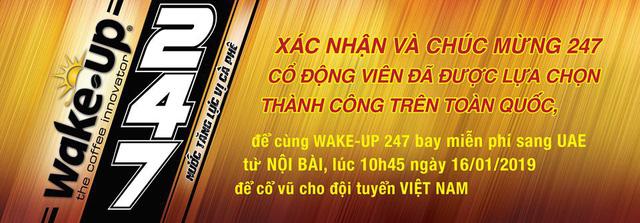 Thêm 247 cổ động viên sang UAE tiếp lửa đội tuyển Việt Nam - Ảnh 1.