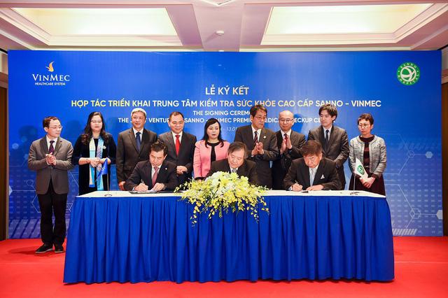 Vinmec hợp tác với thương hiệu y tế hàng đầu Nhật Bản - Ảnh 1.