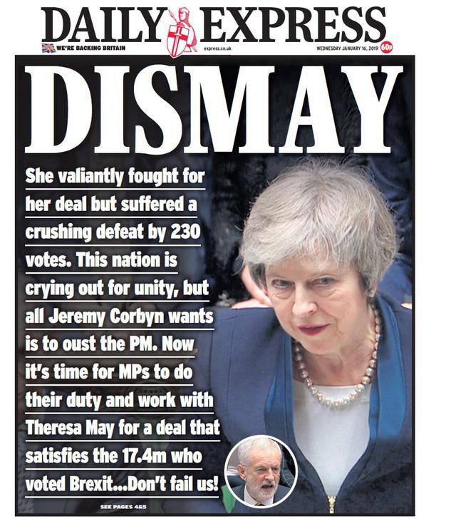 Báo Anh chỉ trích bà May sau thảm họa dự thảo Brexit - Ảnh 7.
