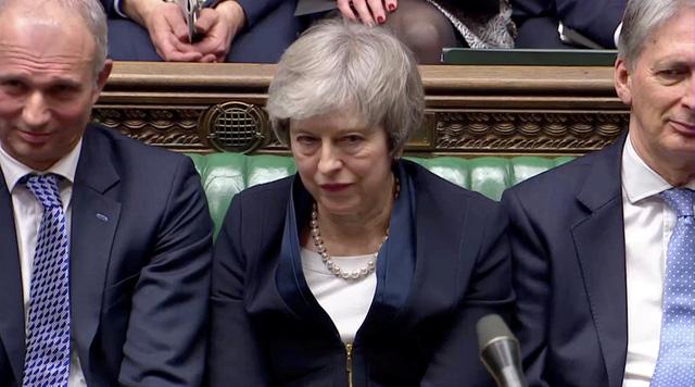 Quốc hội Anh bác dự thảo thỏa thuận Brexit với số phiếu áp đảo - Ảnh 1.