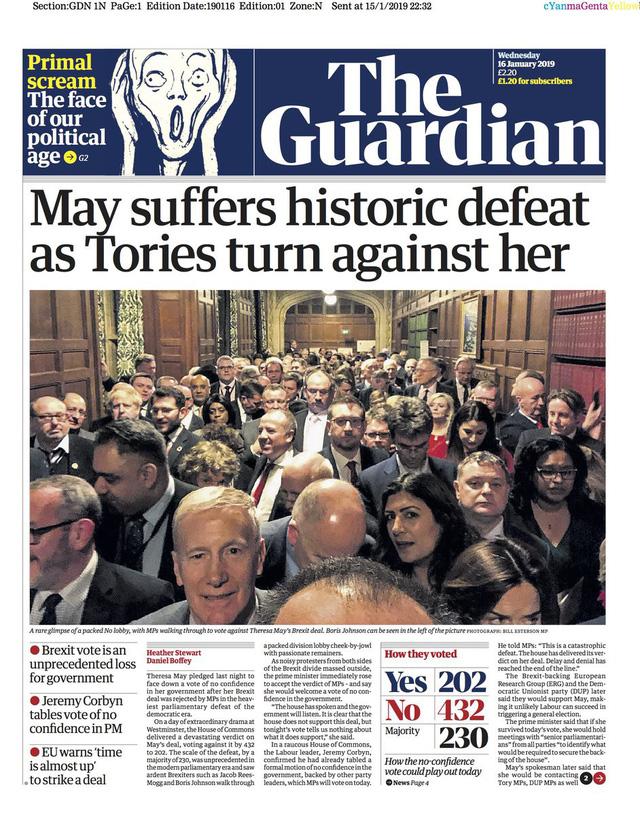 Báo Anh chỉ trích bà May sau thảm họa dự thảo Brexit - Ảnh 2.