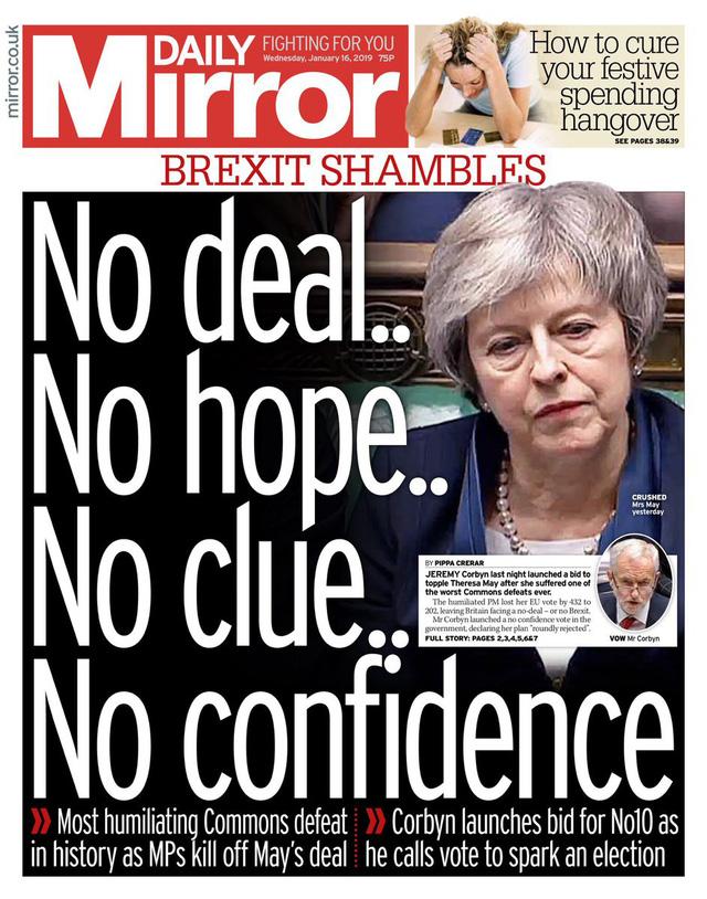Báo Anh chỉ trích bà May sau thảm họa dự thảo Brexit - Ảnh 4.