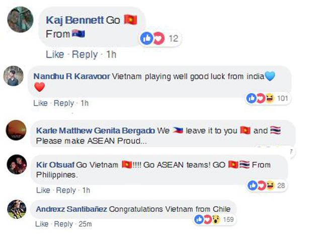CĐV Thái Lan, Hàn Quốc chúc mừng chiến thắng của Việt Nam - Ảnh 4.