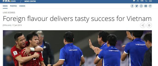 FIFA khen Việt Nam sau thành công ở Asian Cup 2019 - Ảnh 1.