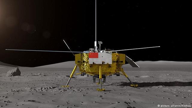 NASA hợp tác với Trung Quốc thăm dò mặt trăng - Ảnh 1.