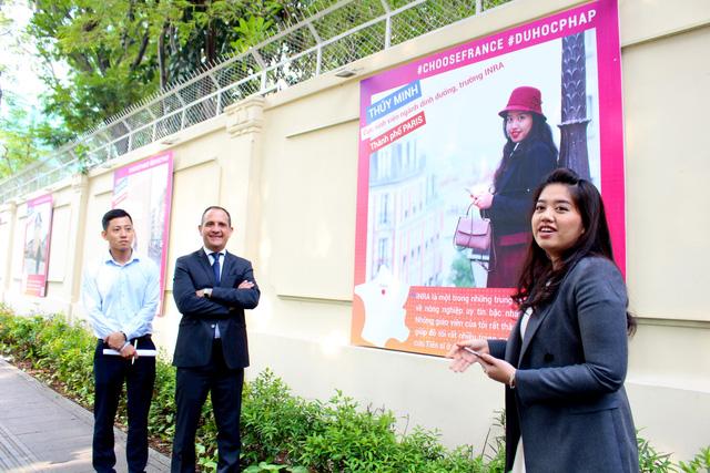 Tăng gấp đôi số du học sinh Việt Nam đến Pháp - Ảnh 3.