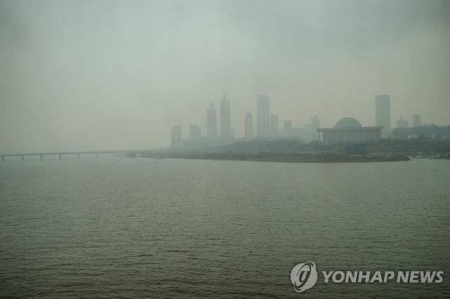 Dân Hàn không dám ra khỏi nhà vì không khí quá ô nhiễm - Ảnh 2.