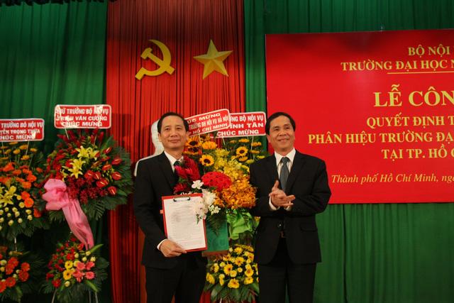 Phân hiệu Trường ĐH Nội vụ Hà Nội tại TP.HCM đào tạo nhân lực công vụ phía Nam - Ảnh 1.