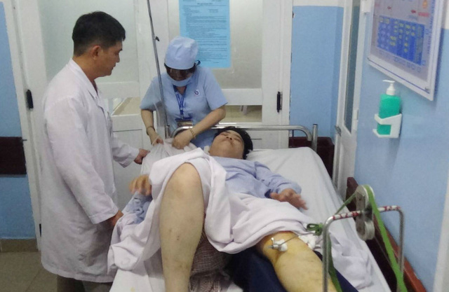 Mô hình cấp cứu người bệnh ngay từ cổng bệnh viện - Ảnh 1.
