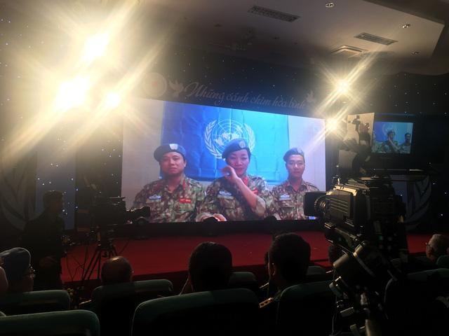 Sĩ quan VN đi gìn giữ hòa bình, luôn nhớ sau lưng mình là Tổ quốc - Ảnh 1.