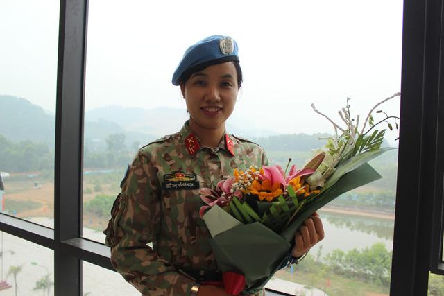 Sĩ quan VN đi gìn giữ hòa bình, luôn nhớ sau lưng mình là Tổ quốc - Ảnh 2.