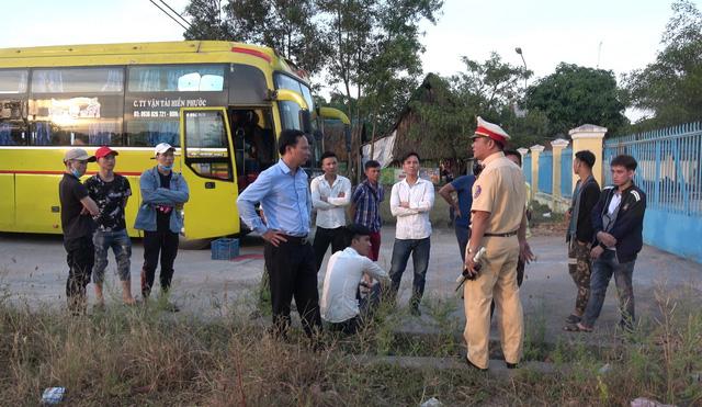 Phát hiện tài xế dương tính với ma túy chở 40 hành khách - Ảnh 2.