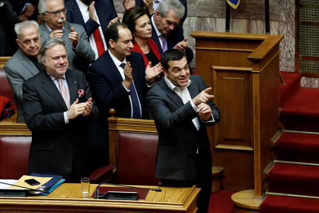 Hy Lạp phê chuẩn thỏa thuận đổi tên nước với Macedonia - Ảnh 1.