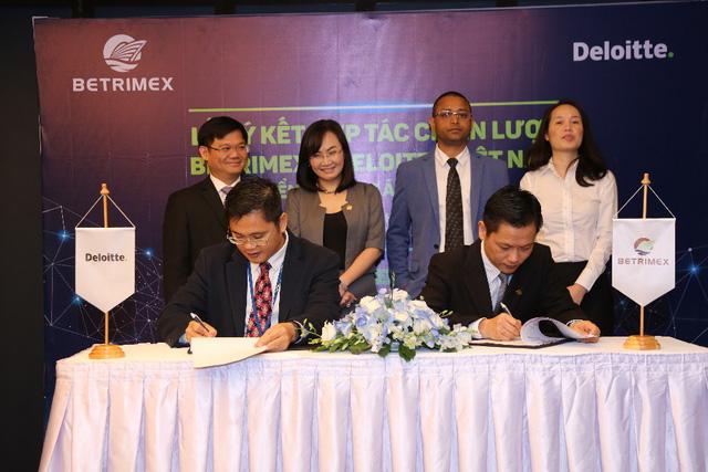 Betrimex và Deloitte ký kết hợp tác chiến triển khai dự án SAP – IFRS - Ảnh 2.