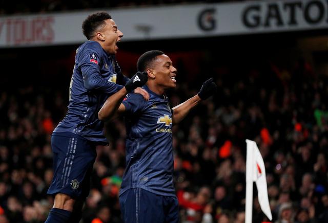 Đè bẹp Arsenal tại Emirates, M.U vào vòng 5 Cúp FA - Ảnh 2.