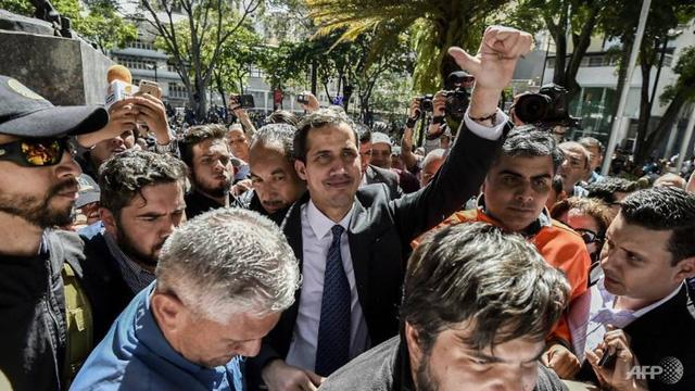 Lãnh đạo phe đối lập Venezuela từ chối đàm phán với ông Maduro - Ảnh 1.