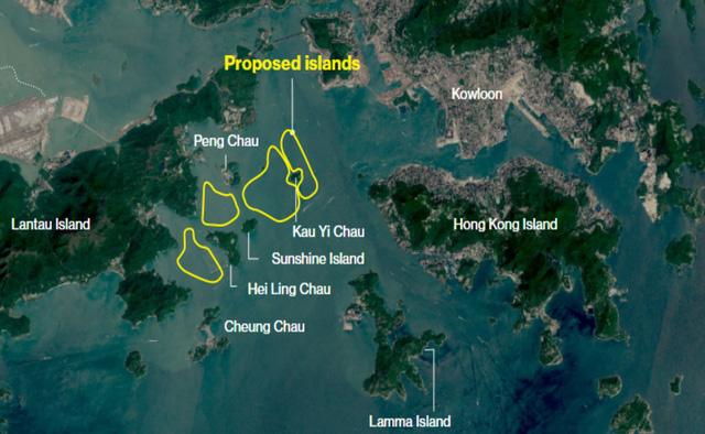 Hong Kong tính xây 4 đảo nhân tạo để di dân - Ảnh 2.