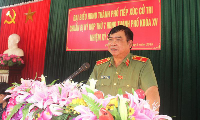Thiếu tướng Đỗ Hữu Ca thôi chức giám đốc Công an TP Hải Phòng - Ảnh 1.