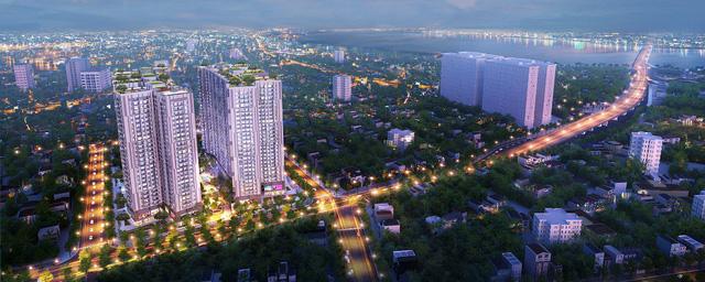 Sức hút của những căn hộ có tầm nhìn thành phố - Ảnh 1.