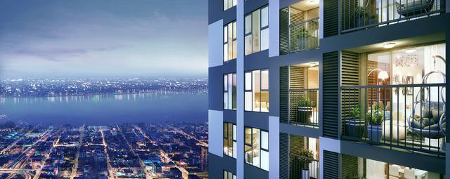 Sức hút của những căn hộ có tầm nhìn thành phố - Ảnh 2.