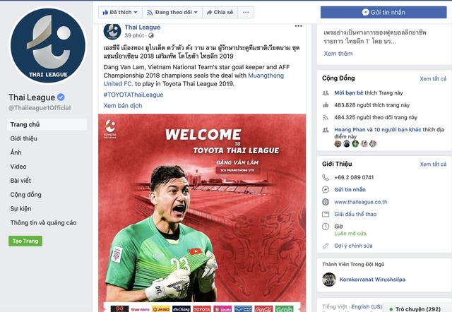 Thủ môn Đặng Văn Lâm sẽ khoác áo CLB Muangthong sau Asian Cup 2019 - Ảnh 2.