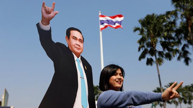 Bầu cử Thái Lan khó đoán định - Ảnh 1.