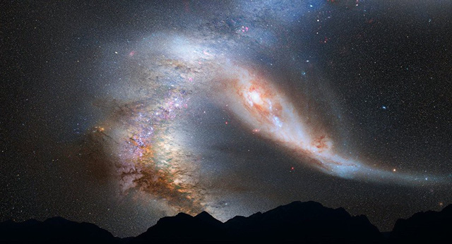 Dải thiên hà lao về hướng Trái đất có thể quét sạch sự sống hành tinh - Ảnh 1.