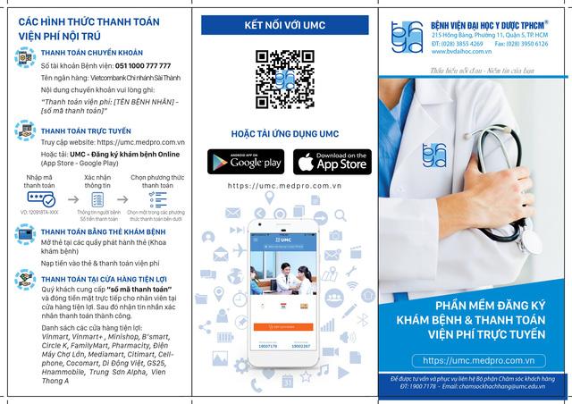 Ứng dụng thanh toán trực tuyến tại Bệnh viện Đại học Y Dược TP.HCM - Ảnh 3.