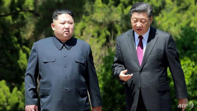 Lãnh đạo Triều Tiên Kim Jong Un đến Trung Quốc - Ảnh 1.