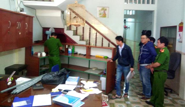 Phát hiện nhóm người từ Bắc vào Bình Định cho vay nặng lãi - Ảnh 1.