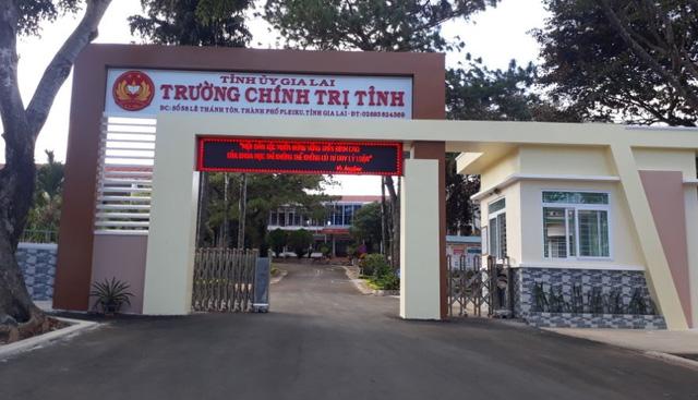 Trộm đột nhập Trường Chính trị Gia Lai cuỗm hơn 540 triệu - Ảnh 1.