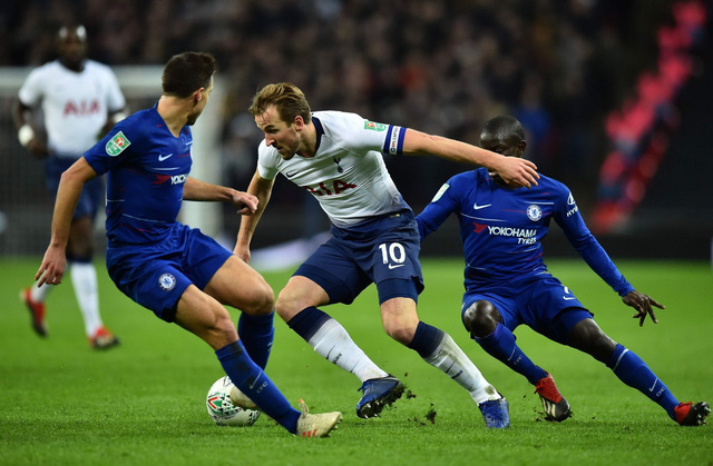 Lượt đi bán kết Cúp liên đoàn: Tottenham thắng tối thiểu Chelsea - Ảnh 1.