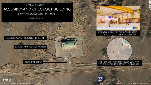Khả năng Iran sắp phóng vệ tinh, phớt lờ đe dọa của Mỹ - Ảnh 1.
