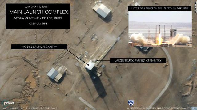 Khả năng Iran sắp phóng vệ tinh, phớt lờ đe dọa của Mỹ - Ảnh 2.