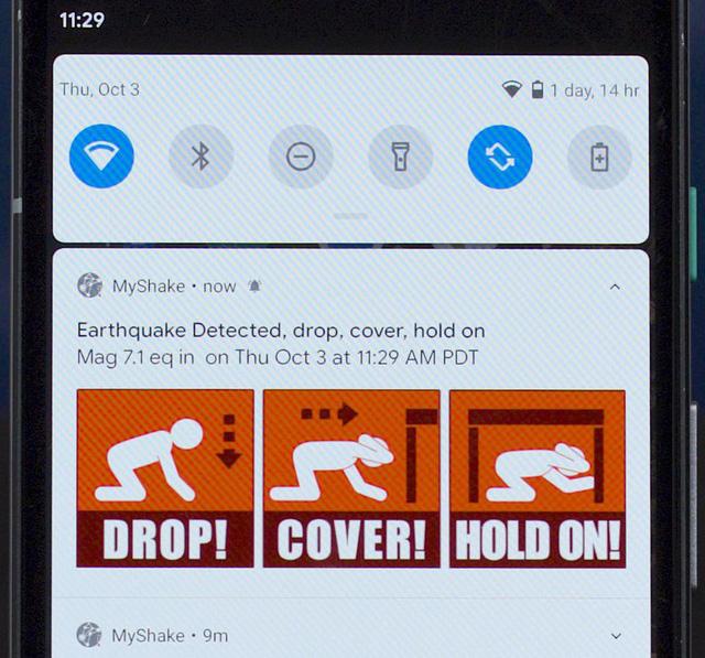 Ra mắt ứng dụng cảnh báo sớm động đất đầu tiên ở Mỹ - Ảnh 1.