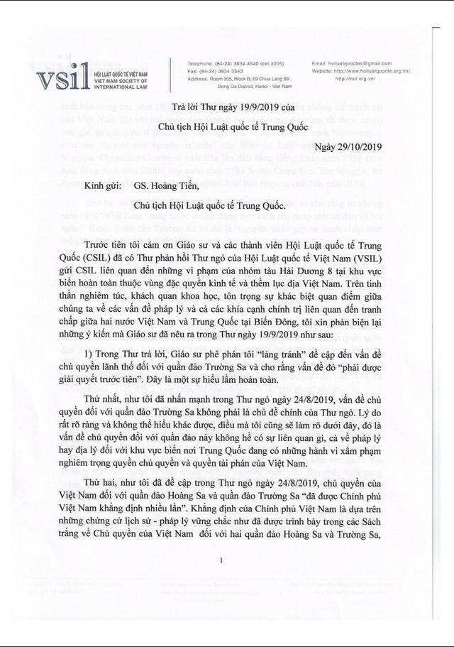 Hội Luật quốc tế Việt Nam đấu luật với Trung Quốc về Biển Đông - Ảnh 2.