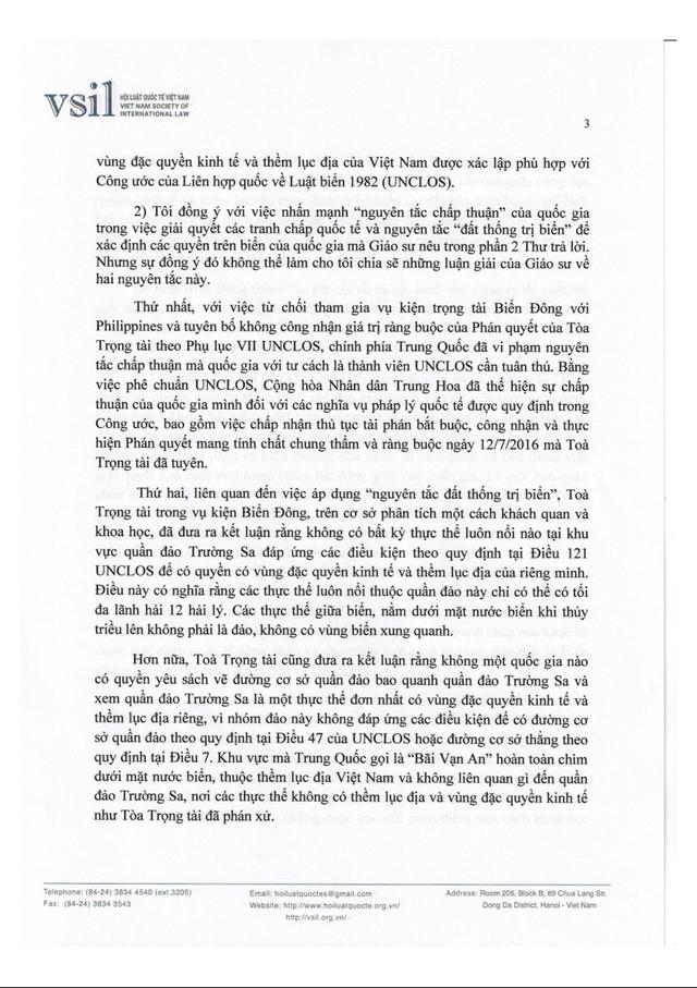 Hội Luật quốc tế Việt Nam đấu luật với Trung Quốc về Biển Đông - Ảnh 4.