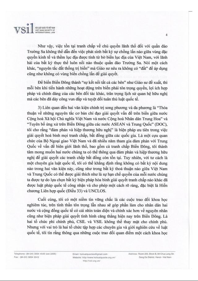 Hội Luật quốc tế Việt Nam đấu luật với Trung Quốc về Biển Đông - Ảnh 5.