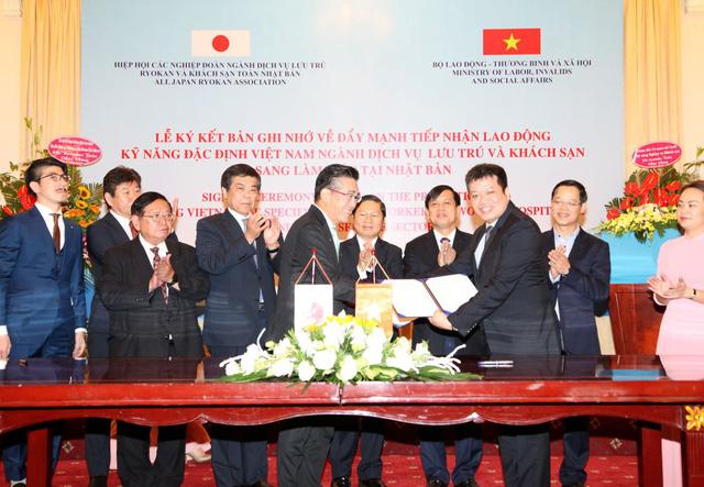 Nhật Bản đẩy mạnh tiếp nhận lao động kỹ năng nghề khách sạn Việt Nam - Ảnh 1.