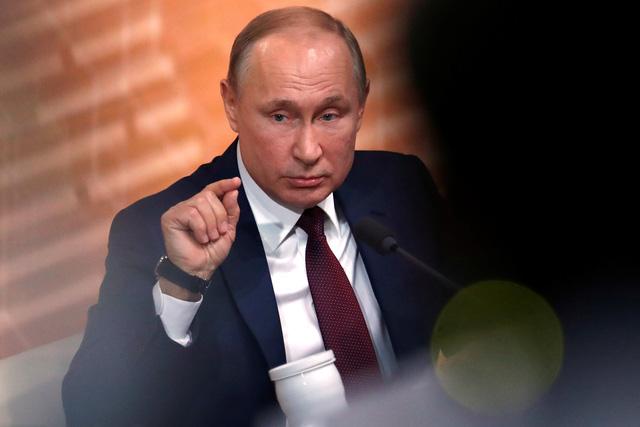 Ông Putin gửi đề xuất sửa hiến pháp lên quốc hội - Ảnh 1.