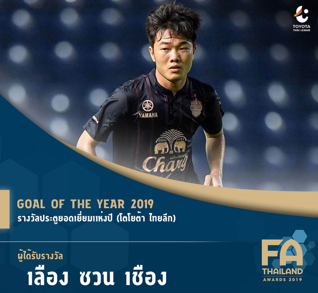 Xuân Trường nhận giải Bàn thắng đẹp nhất năm của Thai League - Ảnh 2.