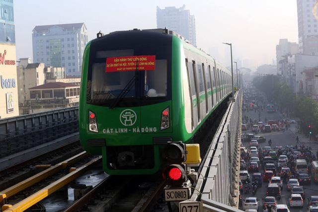 Cấp chứng nhận đăng kiểm tạm thời các đoàn tàu tuyến Cát Linh-Hà Đông - Ảnh 1.