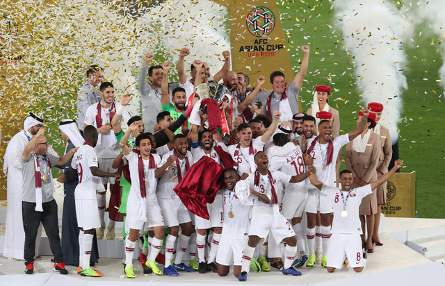 Đá bại Nhật Bản, Qatar lần đầu vô địch Asian Cup - Ảnh 1.