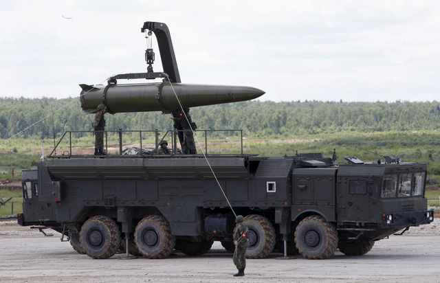 Mỹ rút khỏi thỏa thuận tên lửa hạt nhân với Nga - Ảnh 1.