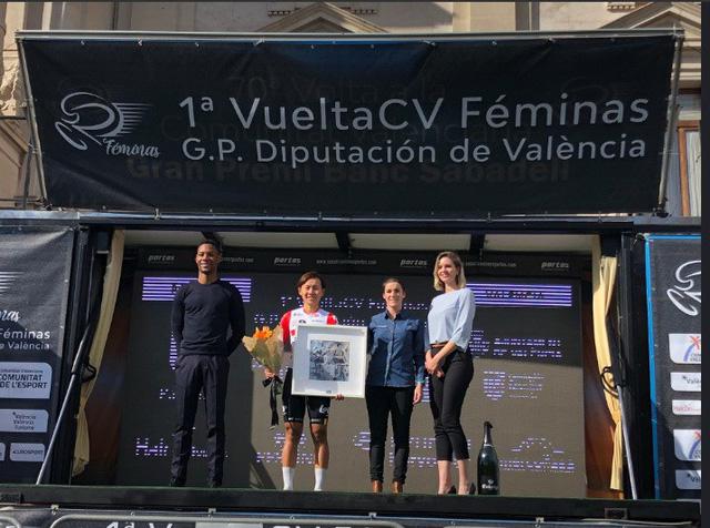 Nguyễn Thị Thật cùng đội đua Lotto Soudal thắng lớn tại Tây Ban Nha - Ảnh 1.