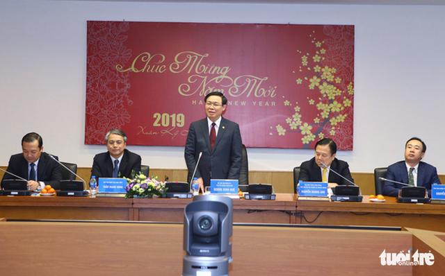 Phó thủ tướng Vương Đình Huệ: Năm 2019, tập trung phát triển 5G - Ảnh 1.